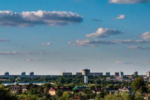 Ostrowiec Świętokrzyski panorama miasta