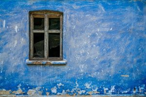 Niebieski domek - sprzedaż zdjęć