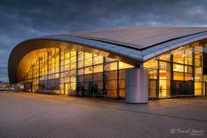 Terminal lotniska w Jasionce