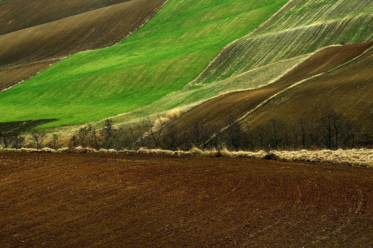 Broniszowice, krajobraz świętokrzyski, fotogrf Paweł Litwin