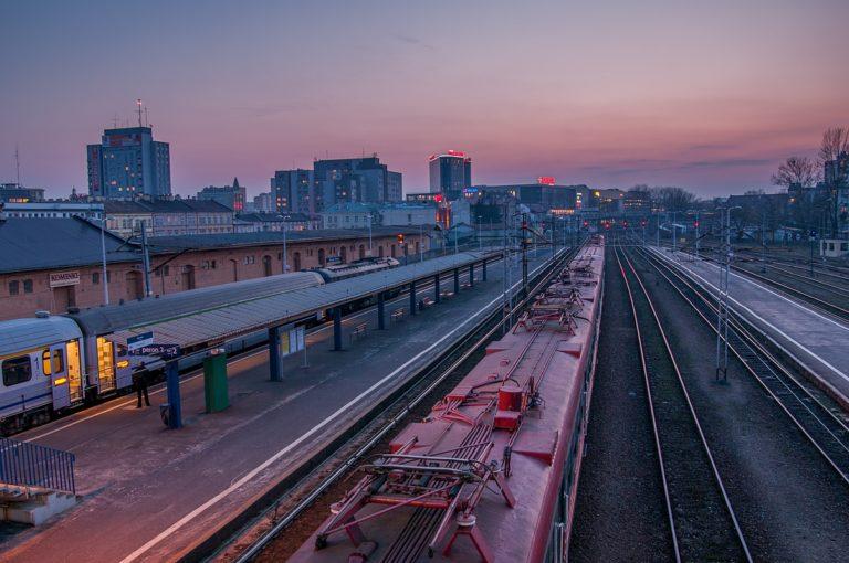 Dworzec PKP Rzeszów, fotograf Paweł Litwin