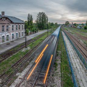 Dworzec PKP OstrowiecŚwiętokrzyski, fotograf Paweł Litwin