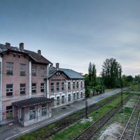 Dworzec PKP Ostrowiec Świętokrzyski, fotograf Paweł Litwin