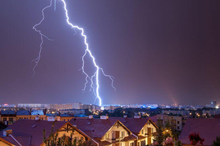 Burza nad Rzeszowem 2015, fotograf Paweł Litwin