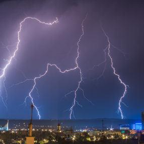 Burza w Rzeszowie 2015, fotograf Paweł Litwin