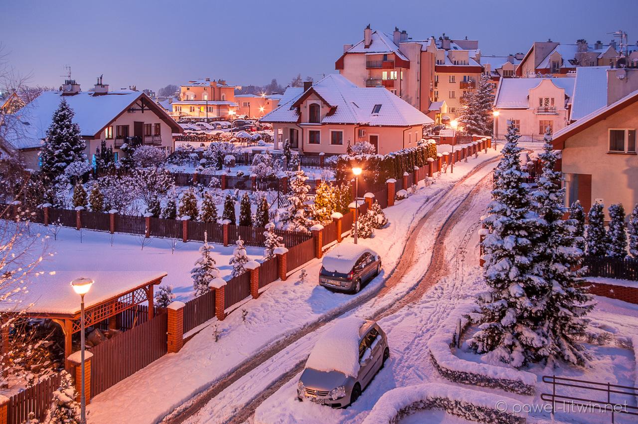 Zima w Rzeszowie