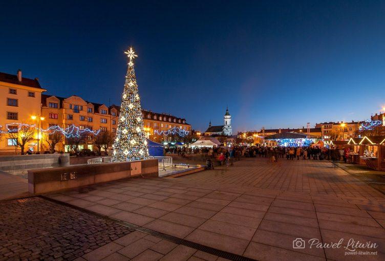 Rynek w Ostrowcu
