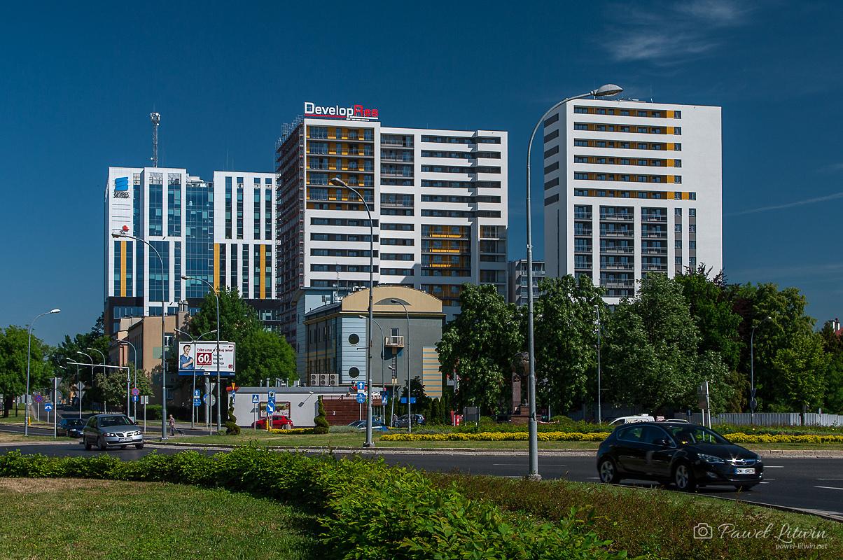 Budynki SkyRes w Rzeszowie