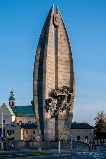 Pomnik Czynu Rewolucyjnego w rzeszowie, 14.04.2018