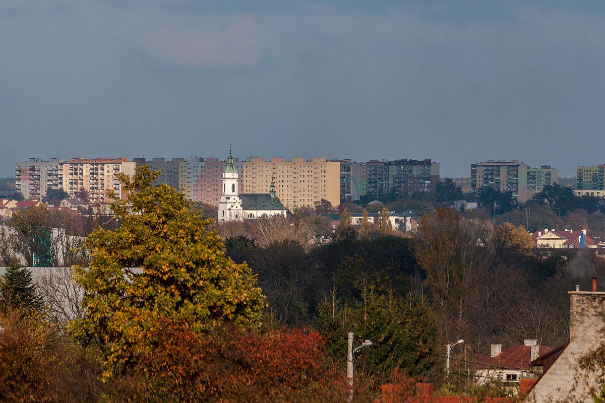 Ostrowiec Świętokrzyski - panorama miasta