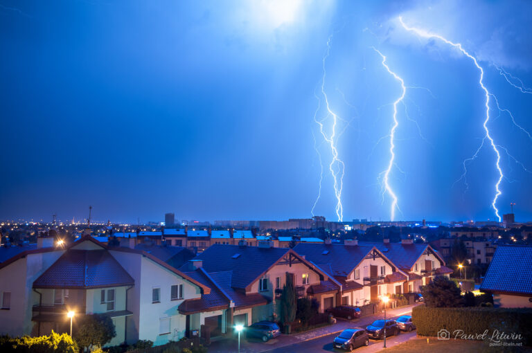 Burza nad Rzeszowem 02.09.2019